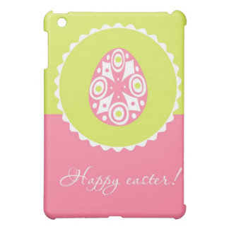 Vintage card with Easter egg iPad Mini Case