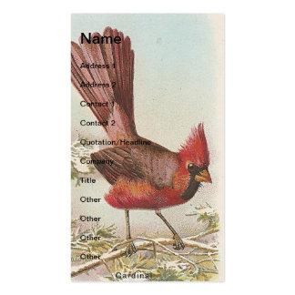 Vintage Cardinal Business Card