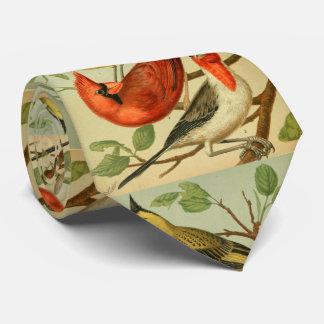 vintage cardinals neck tie