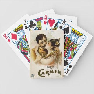 Vintage Carmen Poster Card Decks
