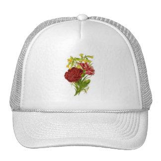 Vintage Carnations Trucker Hat