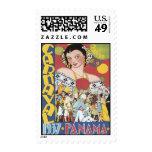 Vintage Carnaval Panama Postage Stamp