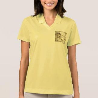 Vintage Carousel Dreams Nike Dri-Fit Polo Shirt