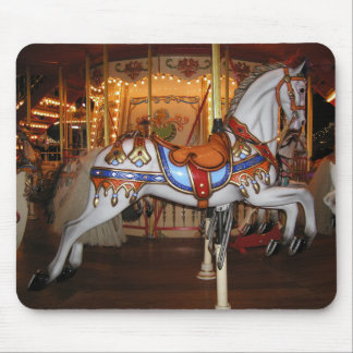 Vintage Carousel Horse 001 01 Mouse Pad