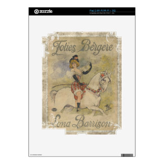 Vintage Carousel Horse Decals For The iPad 2