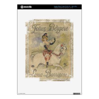 Vintage Carousel Horse Skin For iPad 3