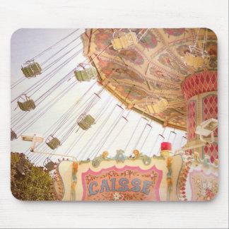 Vintage Carousel Mousepad
