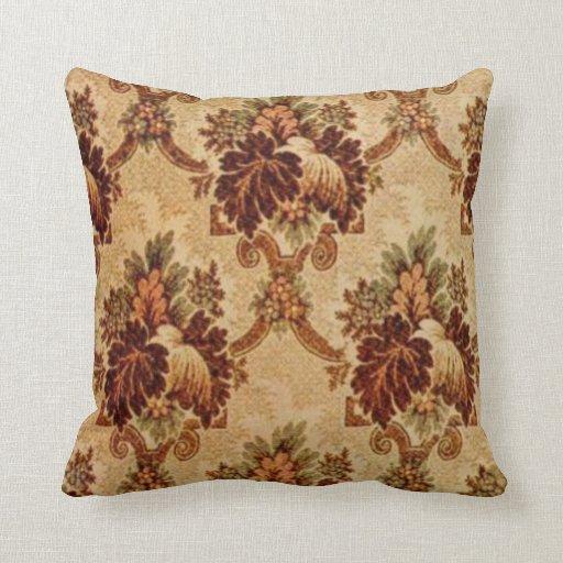 Vintage Carpet Patterns: Pattern 6052 Pillow