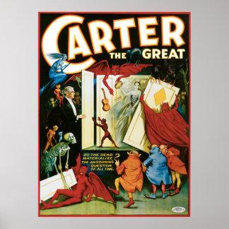 ¿Vintage Carretero el grande, los muertos materali Posters