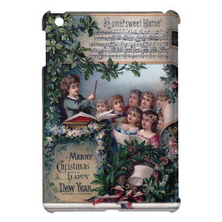 Vintage Carriage for New Year iPad Mini Covers