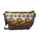 Vintage Carrot Seed Packet Messenger Tote Messenger Bag
