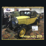"""Vintage cars 2019 calendar<br><div class=""""desc"""">Beautiful original vintage cars from the beginning of 20 century. I took those pictures in the Peterson Automotive Museum.</div>"""