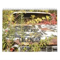 Vintage Cars Calendar
