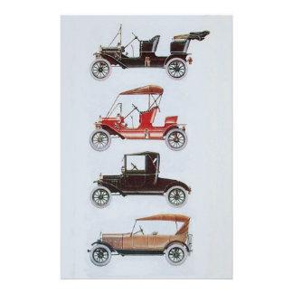 VINTAGE CARS CLASSIC AUTO RESTORATION - AUTOMOTIVE STATIONERY