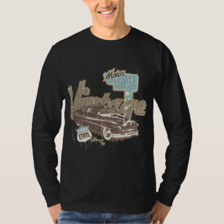 Vintage Cars ~ Classic Car Cruise Night Legend T-Shirt