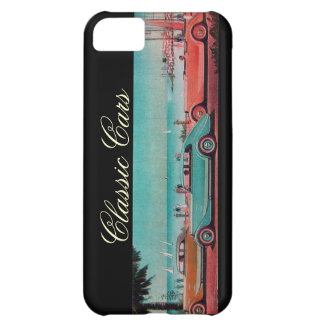 VINTAGE CARS COVER FOR iPhone 5C