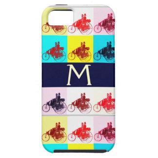 VINTAGE CARS GATHERING POP ART MONOGRAM iPhone SE/5/5s CASE