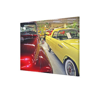 Vintage cars in Tallahassee Automobile Museum Canvas Print