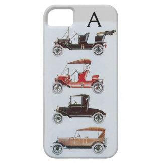 VINTAGE CARS  MONOGRAM iPhone SE/5/5s CASE