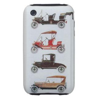 VINTAGE CARS  MONOGRAM TOUGH iPhone 3 COVER
