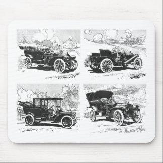 Vintage cars mousepad