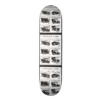 Vintage cars skateboard