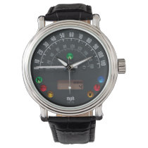 Vintage Cars Speedometer 01 Watch