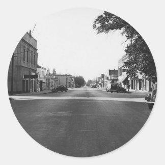 Vintage Carson City Nevada Classic Round Sticker