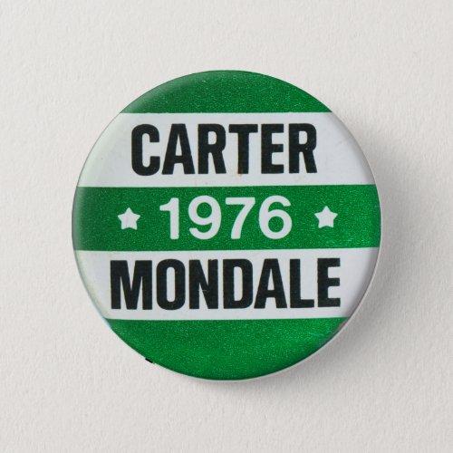 Vintage Carter Mondale for President 1976 Button