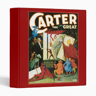 Vintage Carter the Great, Do the Dead materalize? 3 Ring Binder