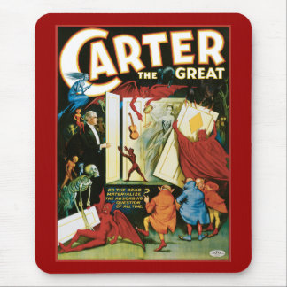 Vintage Carter the Great, Do the Dead materalize? Mouse Pad
