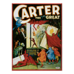Vintage Carter the Great, Do the Dead materalize? Poster