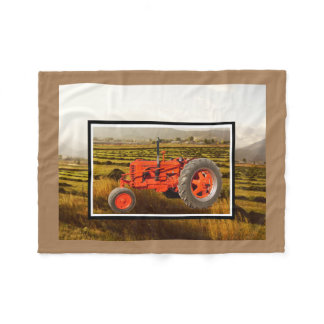 Vintage Case DC 1948 Fleece Blanket