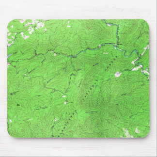 Vintage Cash Hollow Massies Mill Virginia Map Mouse Pad