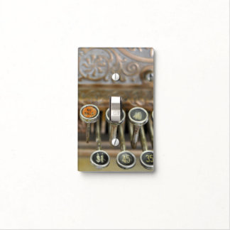 Vintage Cash Register Custom Wall/Switch Cover