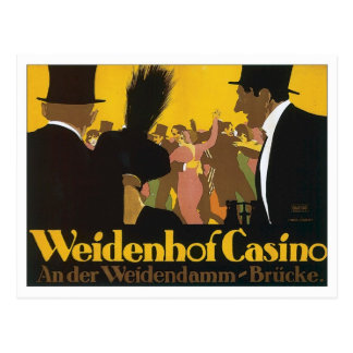 Vintage Casino Germany Post Cards
