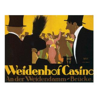 Vintage Casino Germany Postcards