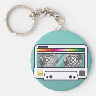 Vintage Cassette Keychain