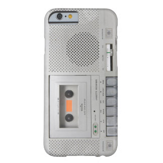 Vintage Cassette Recorder Barely There iPhone 6 Case
