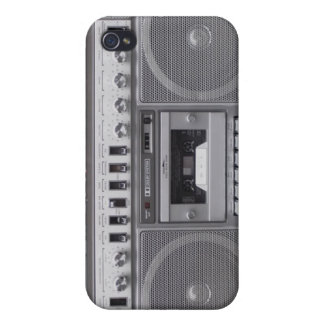 Vintage Cassette Stereo iPhone 4/4S Case Cover