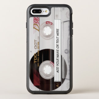 Vintage Cassette Tape Funny Look with Text OtterBox Symmetry iPhone 8 Plus/7 Plus Case