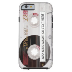 Vintage Cassette Tape Look - Funny Pattern Case-Mate iPhone Case