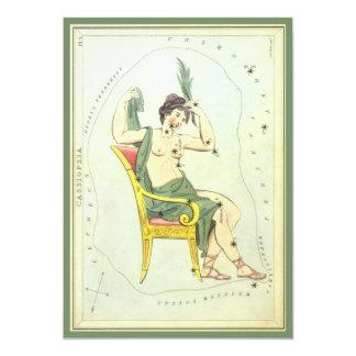 Vintage Cassiopeia Constellation Stars Invitation