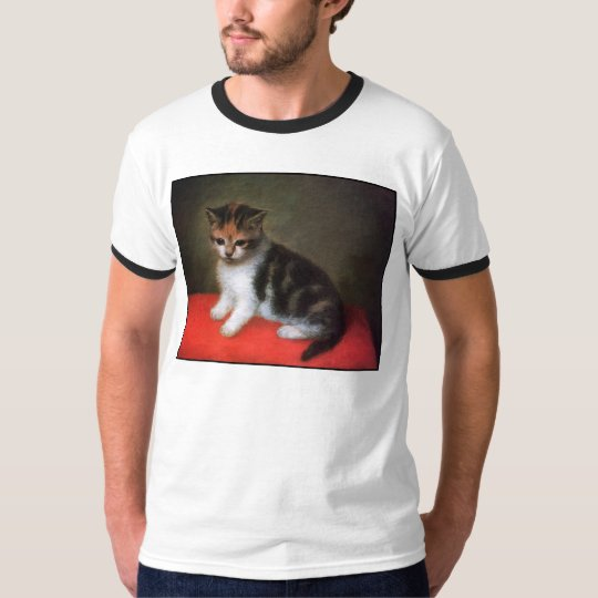 Vintage Cat Art: Kitten Painting by George Stubbs T-Shirt