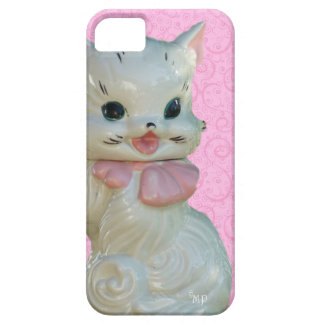 Vintage Cat Cookie Jar Phone Case-10 phone choices iPhone 5 Covers