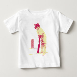 vintage cat cricketer shirt