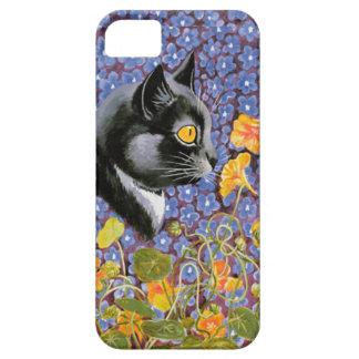 Vintage Cat in a Sea of Flowers Art Case