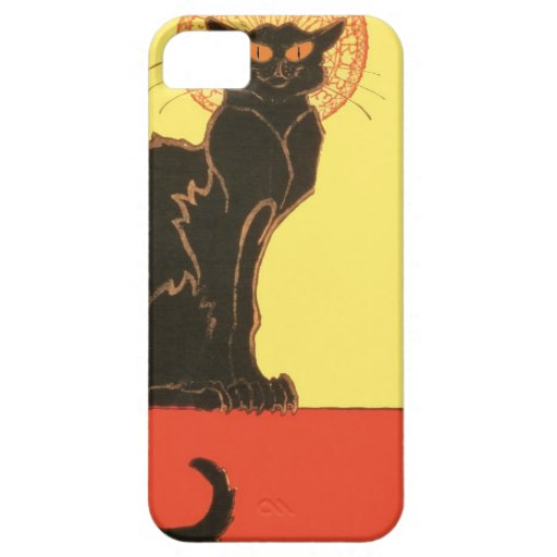 Vintage Cat Magic iPhone 5 Covers