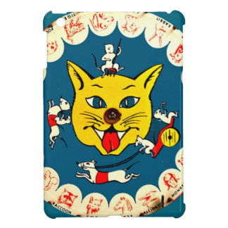 Vintage Cat Mouse Toy Game Comic Ipad Mini Case
