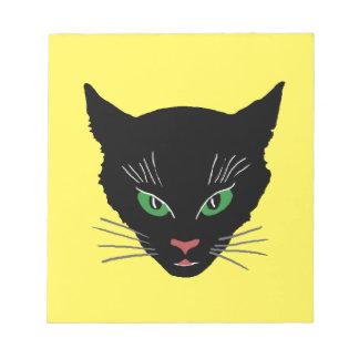 Vintage Cat Notepad